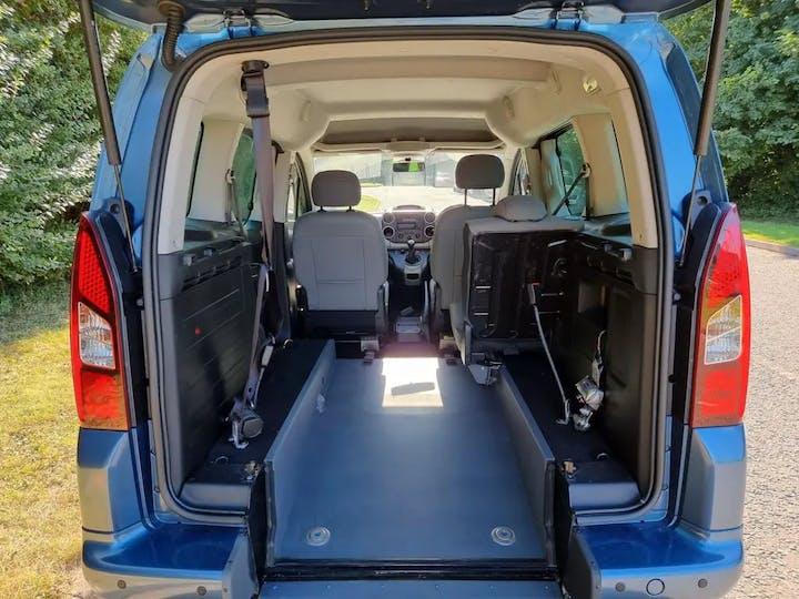 Blue Citroen Berlingo Multispace Bluehdi Feel Edition 2016