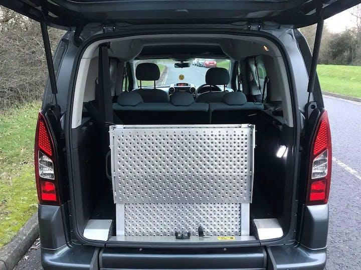 Grey Citroën Berlingo Multispace E-hdi Vtr Etg6 2015