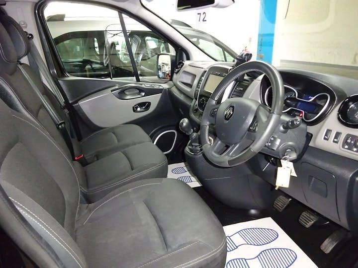 Black Renault Trafic Sl27 Sport DCi S/r P/v 2016