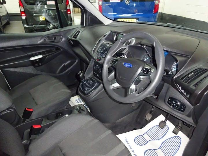 Silver Ford Tourneo Connect Zetec TDCi 2016