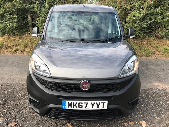 Grey FIAT Doblo Pop 2018