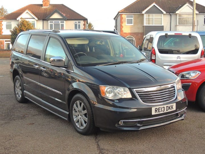 Grey Chrysler Grand Voyager CRD Limited 2013