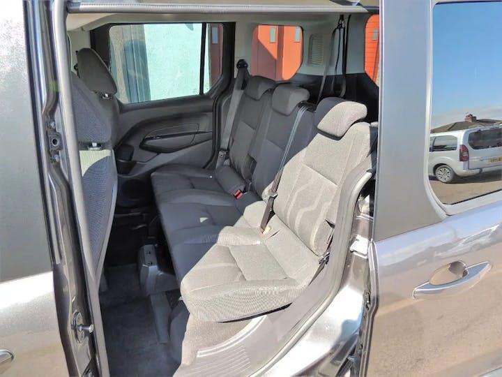 Grey Ford Tourneo Connect Zetec TDCi 2016