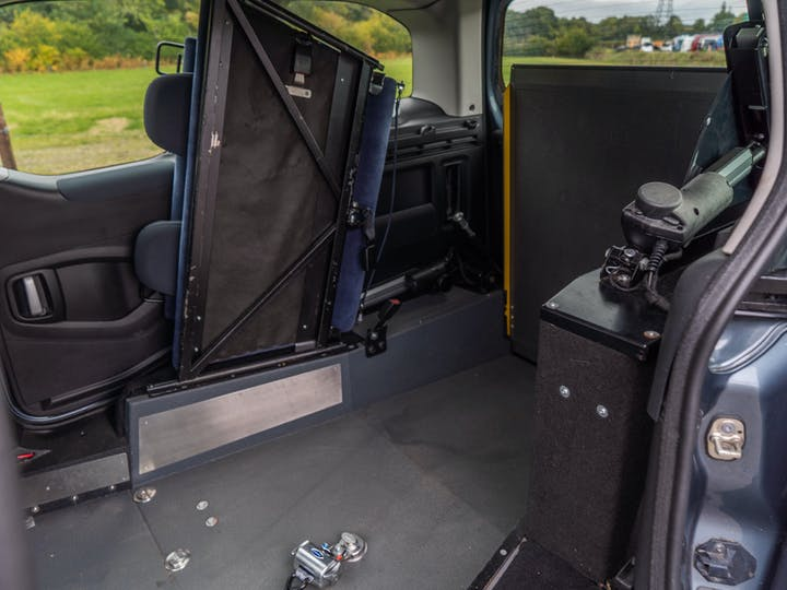 Grey Peugeot Partner Tepee S E-hdi 2012