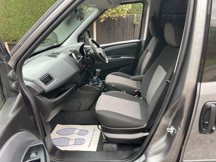 Grey FIAT Doblo Cargo 16V SX Combi 2019